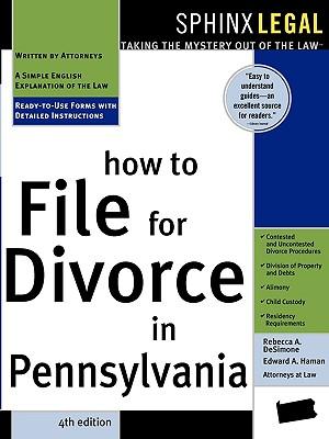 How to File for Divorce in Pennsylvania - Desimone, Rebecca, Atty.