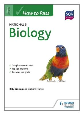 How to Pass National 5 Biology - Moffat, Graham, and Dickson, Billy