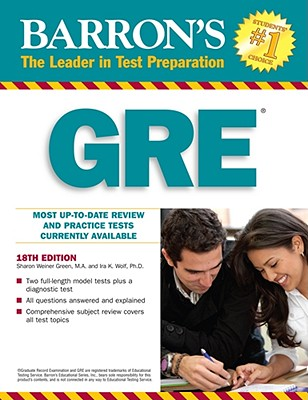 How to Prepare for the GRE - Green, Sharon Weiner, and Wolf, Ira K.
