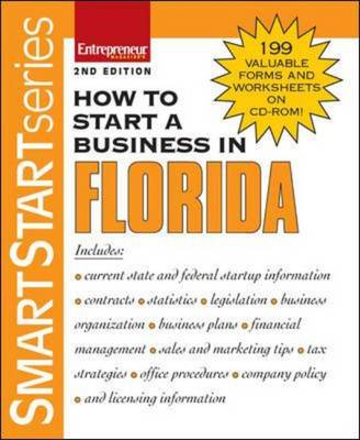 How to Start a Business in Florida - Entrepreneur Press (Creator)