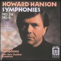 Howard Hanson: Symphonies Nos. 3 & 6; Fantasy Variations on a Theme of Youth - Carol Rosenberger (piano); Michael Crusoe (tympani [timpani]); Randolph Baunton (drums); Ronald Johnson (drums);...