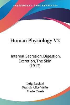 Human Physiology V2: Internal Secretion, Digestion, Excretion, the Skin (1913) - Luciani, Luigi, and Camis, Mario (Editor), and Welby, Francis Alice (Translated by)