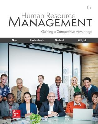 Human Resource Management - Hollenbeck, John R, and Noe, Raymond A, and Gerhart, Barry a