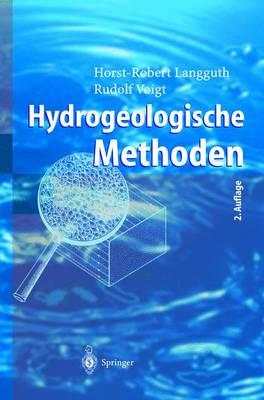 Hydrogeologische Methoden - Langguth, Horst-Robert