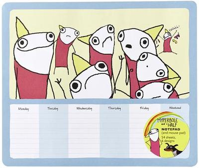 Hyperbole and a Half Notepad (and Mouse Pad): 54 Sheets, 6 Designs - Brosh, Allie
