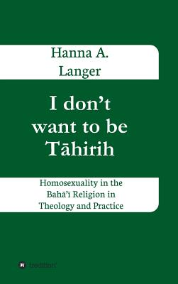 I Don't Want to Be T Hirih - Langer, Hanna A
