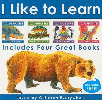 I Like to Learn Box Set: Alphabet, Numbers, Colors, & Opposites - Lluch, Alex A