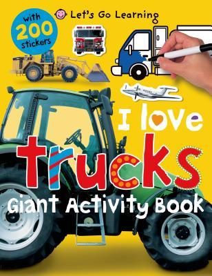 I Love Trucks Giant Activity Book - Priddy, Roger