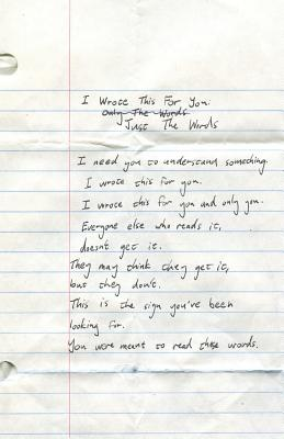 I Wrote This for You: Just the Words - Pleasefindthis