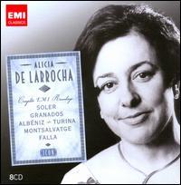 Icon: Alicia de Larrocha - Complete EMI Recordings - Alicia de Larrocha (piano); Victoria de los Angeles (soprano); Orquestra Ciutat de Barcelona; Garcia Navarro (conductor)