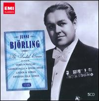 Icon: Jussi Björling Sings Verdi, Puccini, Leoncavallo, Opera Arias, Lieder & Songs, Swedish Folk Songs [Box Set] - Anna-Lisa Björling (soprano); Giorgio Tozzi (vocals); Harry Ebert (piano); Hjördis Schymberg (soprano); Ivor Newton (piano);...