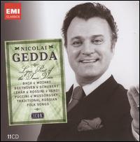 Icon: Nicolai Gedda - Alan Halverson (organ); Aldo Ciccolini (piano); André Mallabrera (tenor); Anneliese Rothenberger (soprano);...