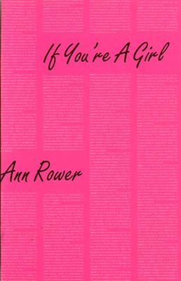 If You're a Girl - Rower, Ann