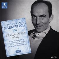 Igor Markevitch: The Complete HMV Recordings - Agnes Disney (vocals); Bela Siki (piano); Boris Christoff (vocals); Christian Asse (vocals); Denise Monteil (vocals);...