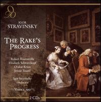 Igor Stravinsky: The Rake's Progress - Elisabeth Schwarzkopf (vocals); Hugues Cuénod (vocals); Jennie Tourel (vocals); Nell Tangemann (vocals);...