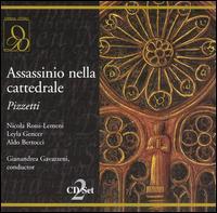 Ildebrando Pizzetti: Assassinio nella Cattedrale - Adolfo Cormanni (vocals); Aldo Bertocci (vocals); Antonio Cassinelli (vocals); Dino Dondi (vocals); Enrico Campi (vocals);...