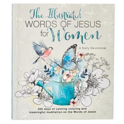Illustrated Words Jesus for Women Devotional Book - Larsen, Carolyn