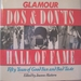 Glamour Do's and Don'Ts Hall of Fame: Fifty Years of Good Fun and Bad Taste
