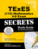 Texes Mathematics 4-8 (115) Secrets Study Guide: Texes Test Review for the Texas Examinations of Educator Standards