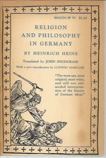 Religion and Philosophy in Germany