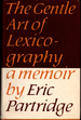 The Gentle Art of Lexicography