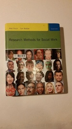 Research Methods for Social Work (Sw 385r Social Work Research Methods)