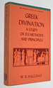 Greek Divination: a Study of Its Methods and Principles