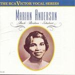 Marian Anderson Sings Bach, Brahms, Schubert