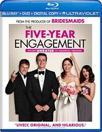 The Five-Year Engagement [2 Discs] [Includes Digital Copy] [UltraViolet] [Blu-ray/DVD]