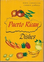 Puerto Rican Dishes (4th Edition: 1974)