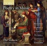 Poetry in Music: Britten, Howells, Ramsey, Rubbra, Tippett, Tomkins