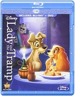 Lady and the Tramp [Diamond Edition] [2 Discs] [Blu-ray/DVD]