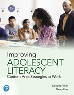 Improving Adolescent Literacy: Content Area Strategies at Work, Paperback, 5th Edition