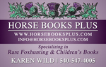 HORSE BOOKS PLUS