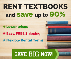 Save up to 80% by renting textbooks