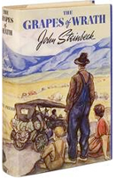 Antiquarian books and antique editions of The Grapes of Wrath, by John Steinbeck