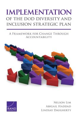 Implementation of the Dod Diversity and Inclusion Strategic Plan: A Framework for Change Through Accountability - Lim, Nelson, and Haddad, Abigail, and Daugherty, Lindsay
