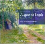 In Flanders' Fields, Vol. 64: August de Boeck: - Selected Piano Works