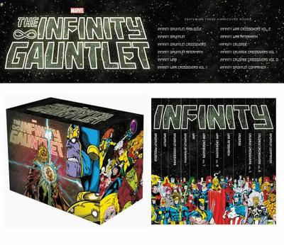 Infinity Gauntlet Box Set Slipcase - Various Artists (Text by)
