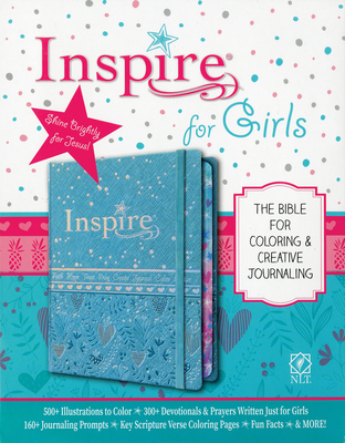 Inspire Bible for Girls NLT - Tyndale (Creator), and Larsen, Carolyn (Notes by)