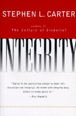 Integrity - Carter, Stephen L
