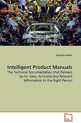 Intelligent Product Manuals - Setchi, Rossitza