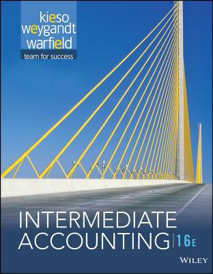 Intermediate Accounting, 16th Edition + WileyPLUS Registration Card - Kieso, Donald E.