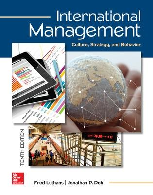 International Management: Culture, Strategy, and Behavior - Luthans, Fred, and Doh, Jonathan