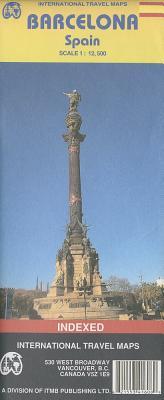 International Travel Maps, Barcelona, Spain, Scale 1:12,500: Indexed - Oberdorfer, Michael, and ITMB Publishing Ltd