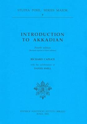 Introduction to Akkadian - Caplice, Richard