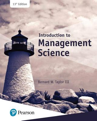Introduction to Management Science - Taylor, Bernard W.