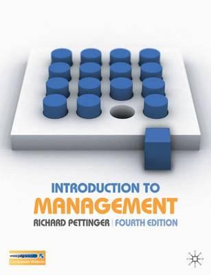 Introduction to Management - Pettinger, Richard