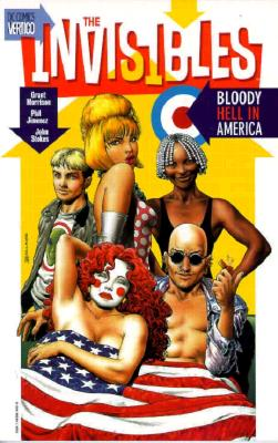 Invisibles, The: Bloody Hell in America Vol 04 - Morrison, Grant, and Jimenez, Phil