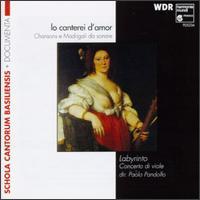 Io canterei d'amor - Gaetano Nasillo (bass viol); Guido Balestracci (viola bastarda); Guido Balestracci (viola da gamba);...